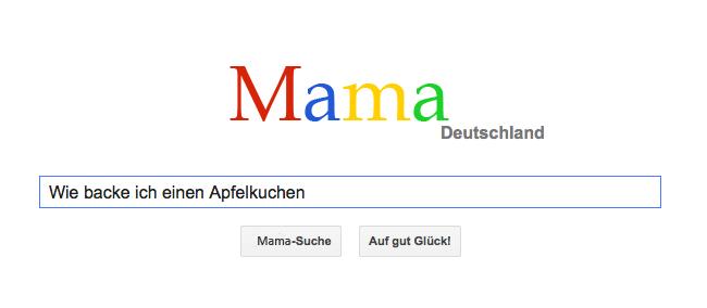 Google-Mama
